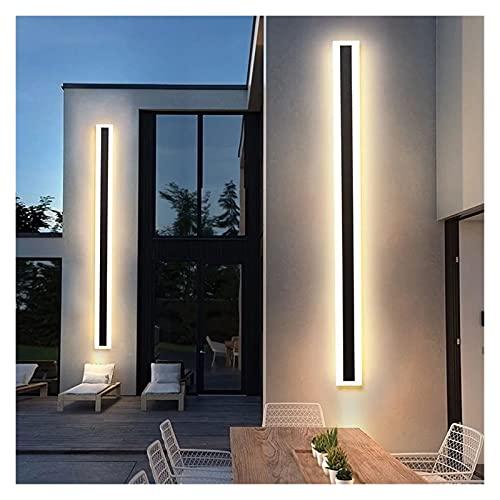 JJSCCMDZ lámpara de Pared Lámpara de Pared LED de Tira Larga al Aire Libre Impermeable IP65 Pared Luz de la Pared Jardín Pórchido Interruptor táctil Luz 110V 220V Luminaria de escoce