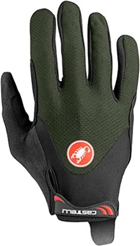 castelli 4520033-075 ARENBERG Gel LF Glove Guantes Ciclismo Hombre Militar Green M