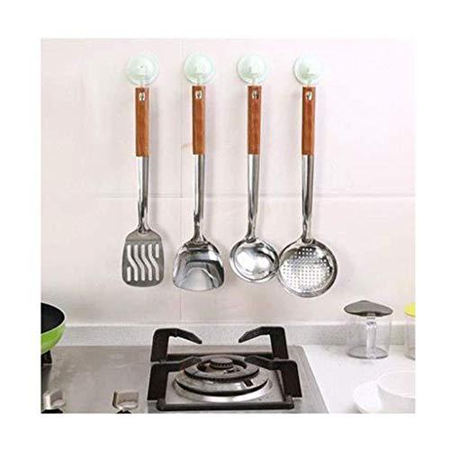 YYNHA Conjunto de Utensilios de cocción de espátula - Gadgets de Cocina Spátula de Acero Inoxidable Juego de 4 Piezas, Antiadherente, Resistente al Calor Utensilios de Cocina Cocina Espátulas hiohua