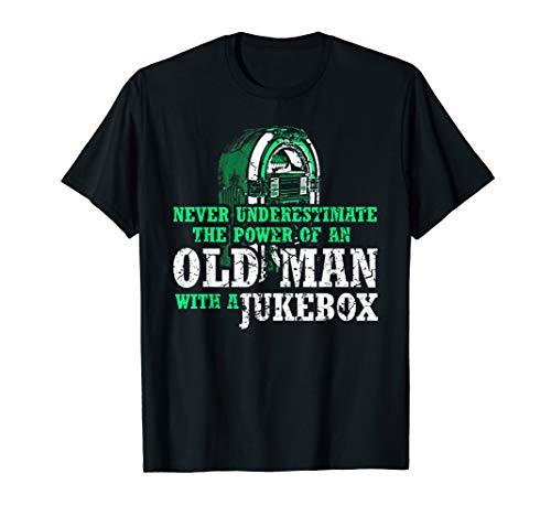 Musikbox Musik T-Shirt Jukebox 50er 60er Jahre Musik Shirt