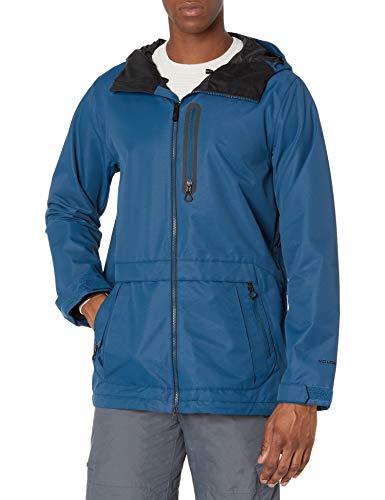 Volcom Deadly Stones Jacket Giacca a Vento, Blu, XL Uomo