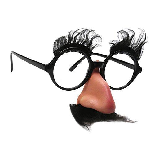 『Harilla ハロウィンメガネ眉毛ひげ鼻パーティーコスプレスペック小道具』の7枚目の画像