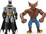 BATMAN 6055854 - Set di 2 personaggi Batman e Man, Bat con fantastici accessori, scala 10 cm