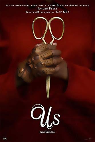 Speaking Thought Jordan peele's Secretive Us Movies 12 x 16 Inch Poster…
