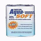 Thetford 03300 Aqua-Soft Toilet Tissue 2-Ply / 4-Pack Quantity 12