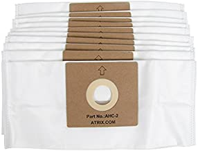 Atrix - AHC-2 HEPA Filter Bags - Replacement Vac Filters for AHC-1 Turbo Red Vacuum Cleaner (10-Pack)