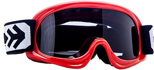 ARMOR Helmets AG-49 Gafas Cross Moto, Ninos, Rojo