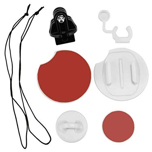 QiKun-Home Juego de Tablas de Surf de Surf 8 en 1, Kit de Paquete de expansión de Montaje en Tabla de Snowboard, Correas de sujeción, Kit de Enchufe FCS para Accesorios de cámara GoPro, Multicolor