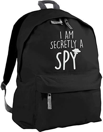 HippoWarehouse I am Secretly a spy Backpack ruck Sack Dimensions: 31 x 42 x 21 cm Capacity: 18 litres