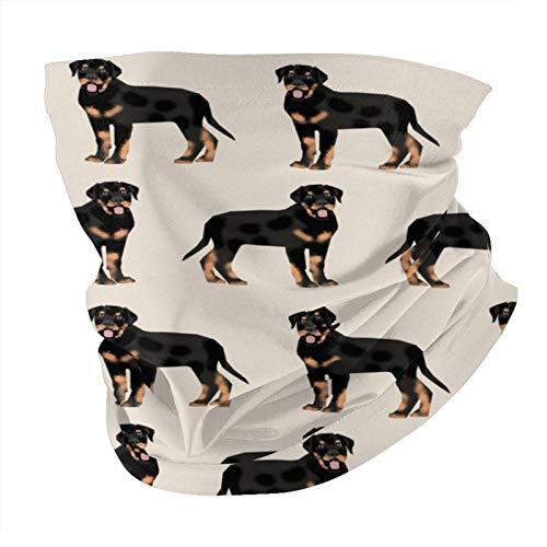 Rottweiler Mascarilla de arena multifuncional para la cabeza, calentador de cuello para hombres, máscara para el sol