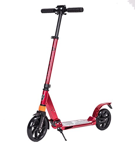 Why Should You Buy Man-hj Home Gym Aluminium Alloy Commuter Scooter for Kids Age 8 Up, Smooth & Fast...