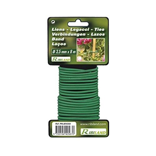 Ribiland 04669 - Lien pour Végétaux 8 m - Diamètre 3,5 mm - Vert