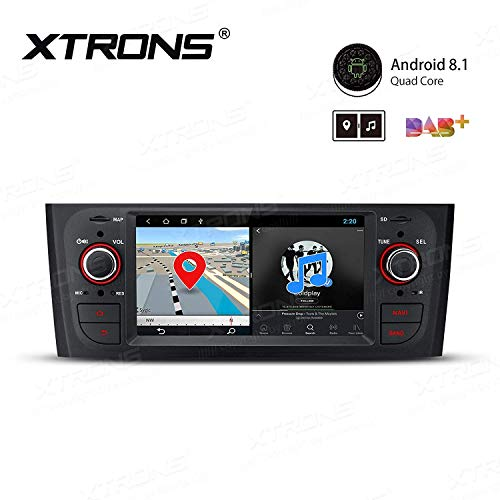 AUTORADIO 6.1' XTRONS per FIAT Grande Punto 2005-2009 Linea Android 8.1