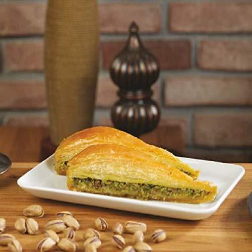 Pistazien Baklava/ direkt aus Gaziantep /traditionell türkisches Rezept/Beste Qualität/ Frisch/ Ohne Zusatzstoffe/kommt mit Tablett/1350 G/Karottenstückhen