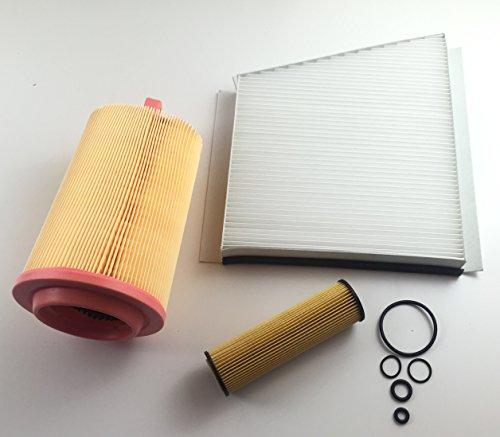 Ölfilter Pollenfilter Luftfilter W211 S211 E 200 NGT E 200 Kompressor