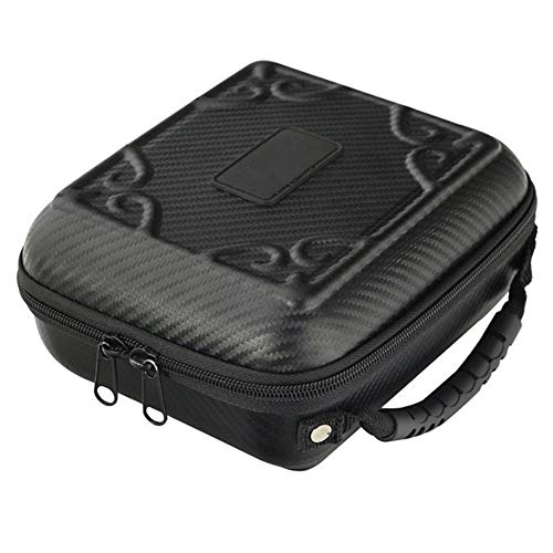 Durable Fishing Tackle Storage Bag Portable fishing reel storage bag, fishing tackle bag, fishing tackle storage bag Fishing Spinning Reel Bag Outdoor Handled Dripping Wheel Box with Double Zipper 20*
