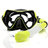 ZKDY Mascara Snorkel Buceo Profesional Anti - Vaho Gafas Gafas De...