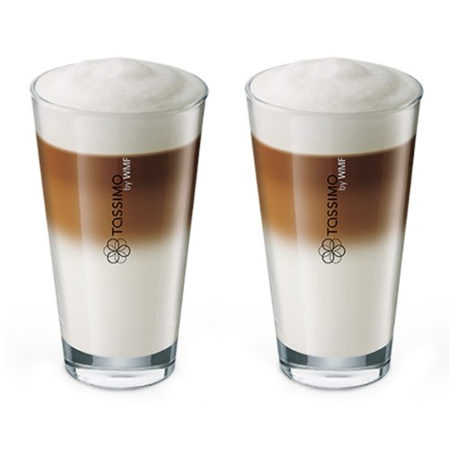 Tassimo Latte Macchiato Gläser Set, 1er Pack (1 x 610 ml)