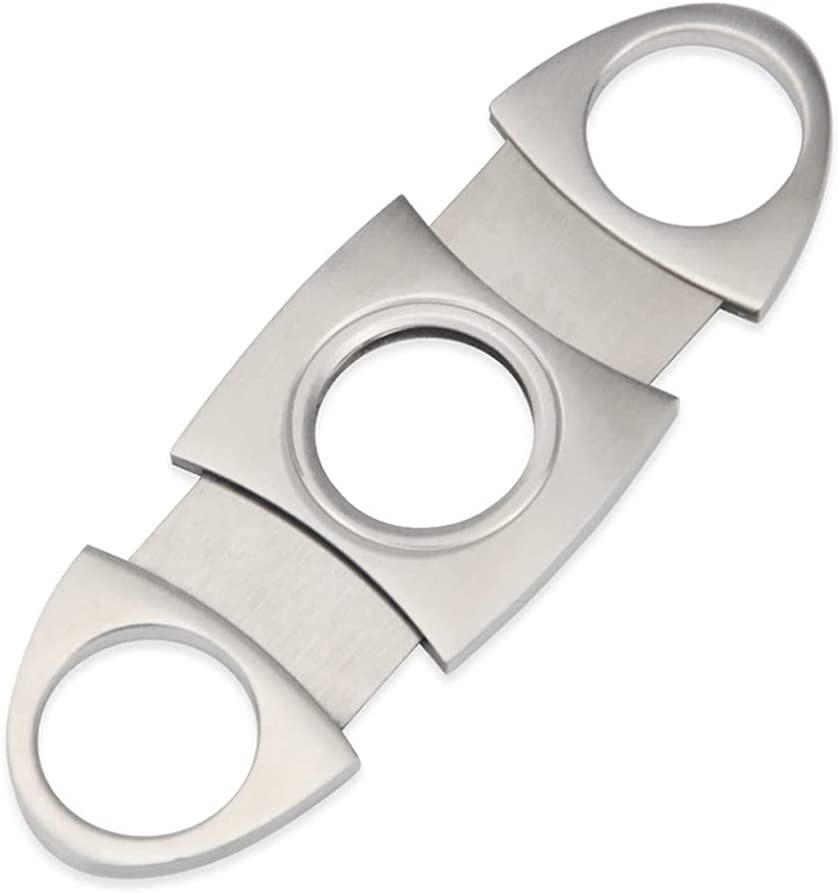 WJCCY Igar Cutter Stainless Steel Quality Max 47% OFF inspection Metal Cigar Gui Classic
