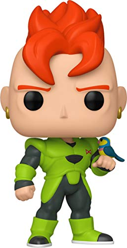Funko- Pop Animation: Dragon Ball Z-Android 16 Collectible Toy, Multicolor (44265)