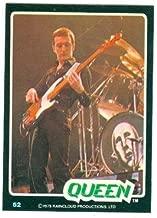 John Deacon trading card Queen 1979 Donruss Rockstars #52
