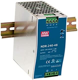 NDR-240-24 Pwr sup.unit switched-mode slim 240W 24VDC 10A
