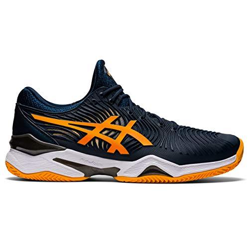 ASICS Herren Court FF 2 Clay Tennis Shoe, French Blue/Amber, 45 EU