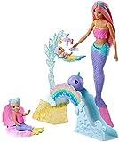 Barbie Dreamtopia Muñeca Sirena con bebés y accesorios (Mattel FXT25)...