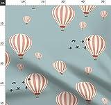 Tapete, Himmel, Kinder, Luftballons, Heißluftballons,