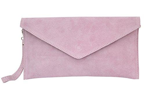 AMBRA Moda - Bolso de hombros de mujeres ( 32 x 2 x 17 cm), Rosa