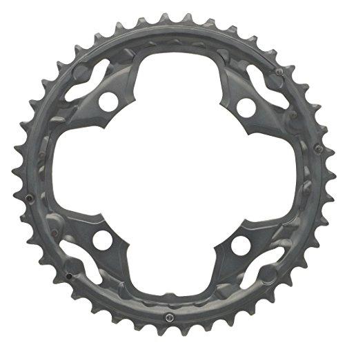 SHIMANO Unisex– Erwachsene DEORE FC-M590-10 Kettenblatt, schwarz, 42 Zähne (AE)