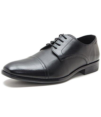 Red Tape Men's Derbys Black Leather Shoes - 11 UK/India (45 EU)