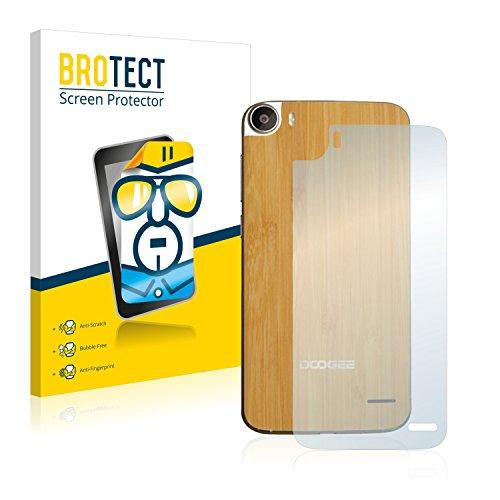 BROTECT Schutzfolie kompatibel mit Doogee F3 Pro (Rückseite) (2 Stück) klare Bildschirmschutz-Folie