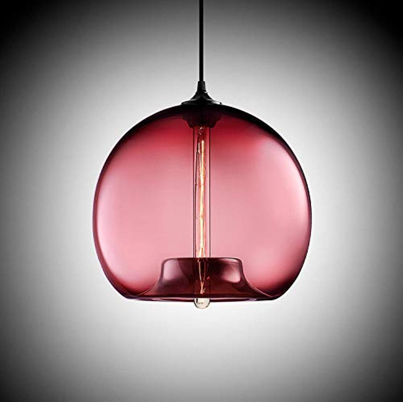 Beakjiful E27 suspension lustre en verre, 305  305 mm, 5
