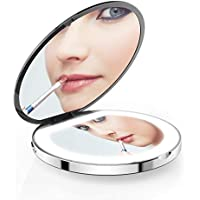iMartine LED Lighted USB Powered Travel Makeup Mirror