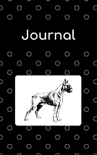 Journal: Boxer; 100 sheet/200 pages; 5
