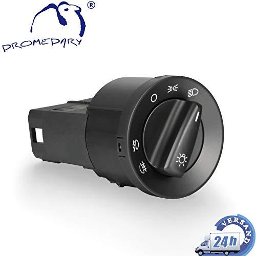 Dromedary 1C0941531A Lichtschalter Nebelscheinwerfer Scheinwerferschalter Hauptlicht Licht Schalter Octavia 1U2 Bora 1J2 Golf IV 1J1 Golf IV Variant 1J5 New Beetle 9C1 1C1 Passat 3B2 3B3