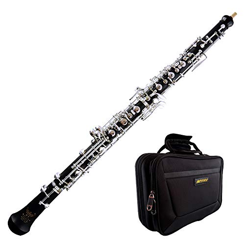 ROFFEE oboe beginner student level 02A composite wood ABS semi automatic silver plated