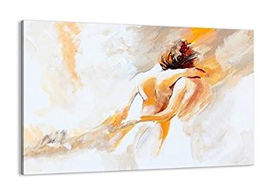 Cuadros para dormitorios modernos - cuadro sobre lienzo: gente, arte, otro. Talla: 120x80 cm. La imagen consta de 1 elemento. Las impresiones hechas con cuidado tienen colores vivos. También se imprimen los lados de la imagen. Los gráficos estéticos ...