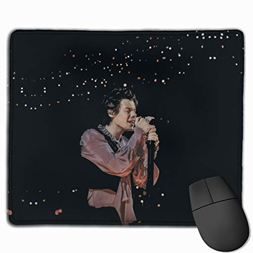 Harry Styles Office Mouse Pad Gaming Mouse Pad Mousepad Nonslip Rubber Backing