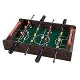 LLZH Mesa de Futbolín para Niños, Mini Futbolín Portátil, para Juegos en Interiores, Juego de Fútbol de Mesa, para Sala de Juegos y Noche de Juegos Familiar