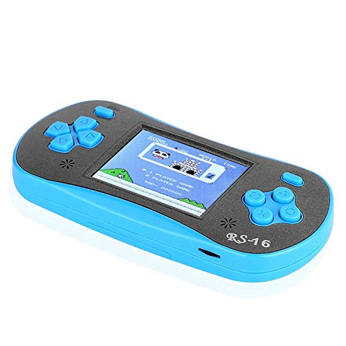 FAMILY POCKET RS-16 Kids Handheld Gamer Portable Video Game Retro Gamer with 2.5 inch LCD Built-in 260in1 Classic Video Game