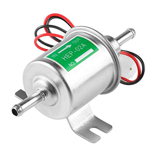 buenos comparativa Bomba de combustible eléctrica de metal modificado automotriz universal HEP-02A12V para… y opiniones de 2021