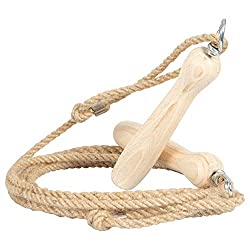 Hemp skipping rope with wooden handle Jump rope Jump rope Hopping rope Jump rope