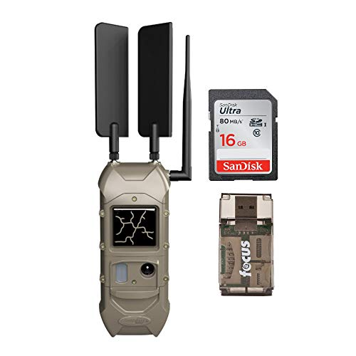 Cuddeback CuddeLink 20MP Dual Cell Trail Camera with Memory...