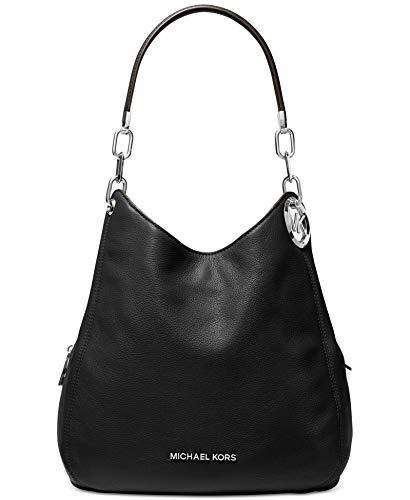 Michael Kors Womens Lillie Shoulderbag, Black, Large