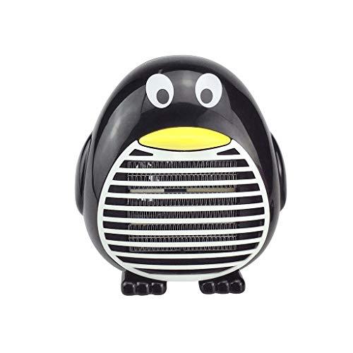 YoYoly Mini Portable Heater Fan, Desktop Electric Thermostatic Hand Warmer Home Heating, Air Warmer Space Heaters (Black)
