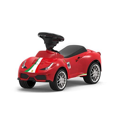 Axontoys Rastar Ferrari 488 GTE Kindersitz, zum Aufschieben, Rot