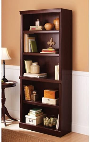Better Homes And Gardens Ashwood Road 5 Shelf Bookcase Multiple Finishes Cherry