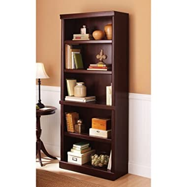 Better Homes and Gardens Ashwood Road 5-Shelf Bookcase (Cherry)